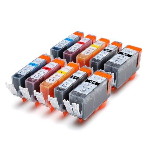 Preisvergleich Produktbild 10 kompatible Druckerpatronen mit Chip ersetzen Canon Pixma ip3600 ip4600 MP540 MP620 MP630 MP980 MP 540 620 630 980 ip 3600 4600