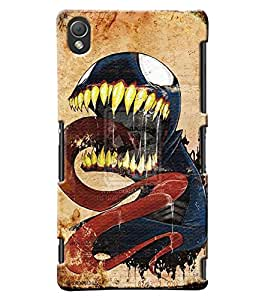Blue Throat Dragon Printed Designer Back Cover/Case For Sony Xperia Z3