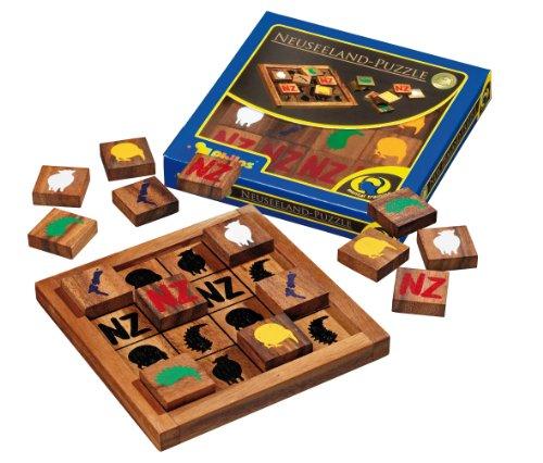 Preisvergleich Produktbild Philos 6217 - Neuseeland-Puzzle, 16 Puzzle Teile, Legespiel