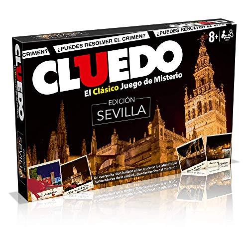 Cluedo Sevilla. Juego Mesa Misterio- Versión español