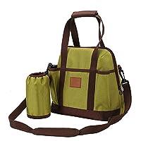 Specifica:  Colore: Verde, rosa;  Dimensione: 28*17*26cm;  Materiale: tessuto Oxford, terylene;  Tipo: impermeabile portatile, borsa, sacchetto, spalla;  Il pacchetto comprende:  1 x fasciatoio borsa.