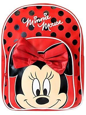 Disney Minnie Mouse Mochila para niñas de Trade Mark Collections