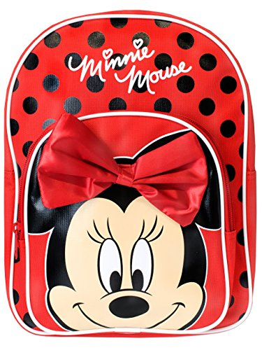 Girls Disney Minnie Mouse Bow Backpack by Disney