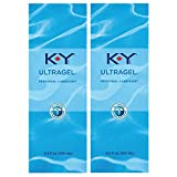K-Y Ky Ultra Gel Personal Lubricant-4.5-Ounce Bottle Pack Of 2