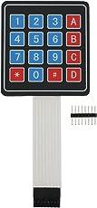 Keypad_4x4 Matrix Membrane Keypad by Robokart