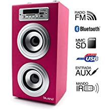 Reproductor JoyBox Bluetooth Rosa Biwond