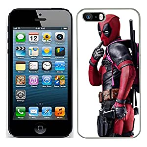 cheaper ac1f2 4f264 Deadpool case fits iphone 5S cover hard protective (6) for apple i mobile  phone