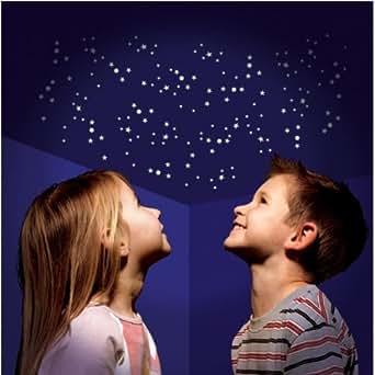 350 teile set leucht sterne sternenhimmel nachtleuchtende. Black Bedroom Furniture Sets. Home Design Ideas