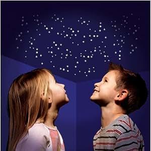 350 uv aktive leuchtsterne mehr selbstklebend sternen. Black Bedroom Furniture Sets. Home Design Ideas