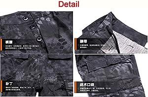 Hommes Tactique EDR Combat Uniforme Veste Chemise & Pantalons Costume Multicam MC pour Armée Militaire Airsoft Paintball Chasse Tournage Guerre Jeu