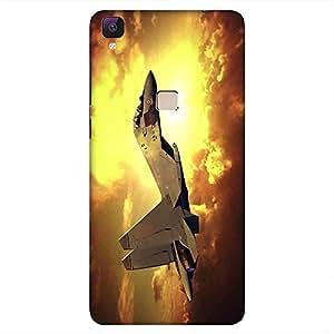 MOBO MONKEY Printed Hard Back Case Cover for Vivo V3 - Premium Quality Ultra Slim & Tough Protective Mobile Phone Case & Cover