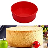 winkey-, 6mit rot Silikon Kuchen Form Kuchenform Muffin Gebäck kochen Backen Tablett, Pizza Backen Cupcake, Backen, Schokolade, Cookie Mould