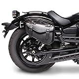 Satteltasche für Harley Davidson Sportster Forty-Eight 48 (XL 1200 X) Arizona Schwarz rechts