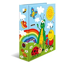HERMA Lever Arch File Kindergarten with Frieda & Friends Motif, A4, 70 mm Spine, with Inner Print, 1 Folder