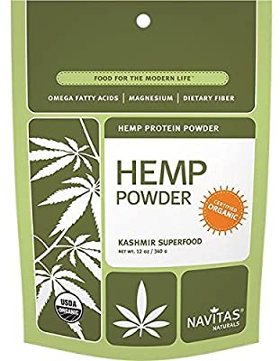Navitas Naturals Organic Hemp Protein Powder 340g by Navitas Naturals