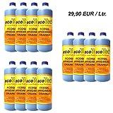 12x1 Ltr. Ecosil Abfluss-Sperr-Gel Orange in Profi-Qualität || Beruhigtes Urlaubs-Gewissen ||