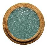 ZAO Pearly Eyeshadow 109 türkis blaugrün Lidschatten schimmernd / Perlglanz in nachfüllbarer Bambus-Dose (bio, Ecocert, Cosmebio, Naturkosmetik)