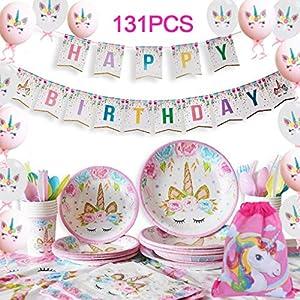 Yidaxing 131 Piezas Decoraciones Cumpleaños