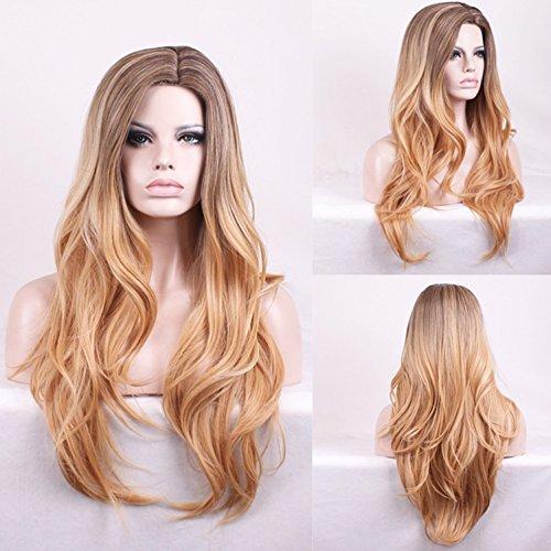 Damen Perücken, Alltag und Party-Events, elegante Mode blonde Haare, 0 (In Tasche My Little Einer Pony)