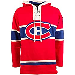 NHL Montreal Canadiens Lace Jersey Hood (Old Time Hockey)