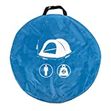 Dunlop Wurf Zelt 1 Person 220 x 120 x 90 cm blau/grau in Transporttasche -