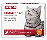 Beaphar FIPROtec Spot On Solution for Cats (6 Treatment 30 wks)