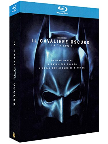 The dark knight trilogy [Blu-ray] [Import anglais]