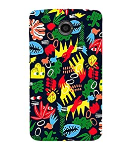 Ebby Premium 3d Desinger Printed Back Case Cover For LG Nexus 6 (Premium Desinger Case)
