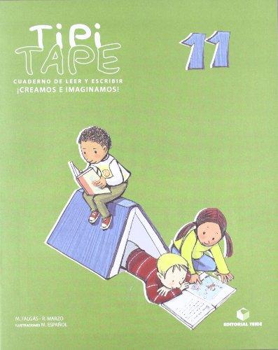 Tipi-Tape. Cuaderno de leer y escribir 11 - 9788430700912
