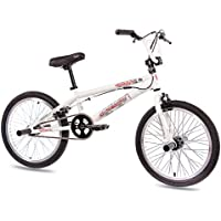 "20"" BMX BIKE KIDS KCP CORE 360 ROTOR FREESTYLE white - (20 inch)"