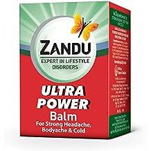 Emami Limited. Zandu POTENCIA ULTRA AYURVEDIC BALM 8 ML (PACK de dos)