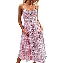 Vestido de mujer, ♡Xinantime♡ Vestido sexy de mujer Blusa de botones