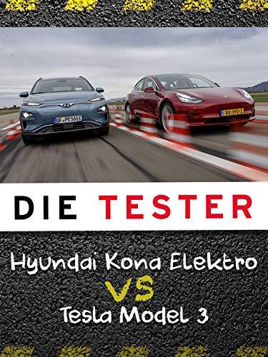 Die Tester: Hyundai Kona Elektro vs. Tesla Model 3