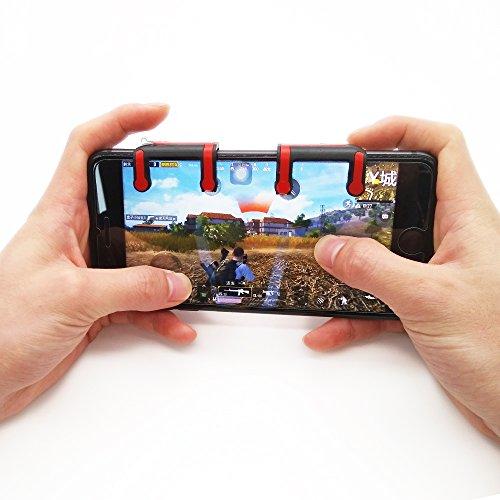 Videospiele Offizielle Website Telefon Gamepad Trigger Feuer Taste Ziel Schlüssel Smart Telefon Mobile Spiele L1r1 Shooter Controller Pubg Für Iphone Xiaomi