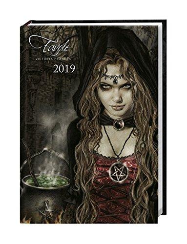Favole Kalenderbuch A6 - Kalender 2019 - Heye-Verlag - Victoria Francés - Taschenkalender mit Schulferien - 11,6 cm x 16,3 cm