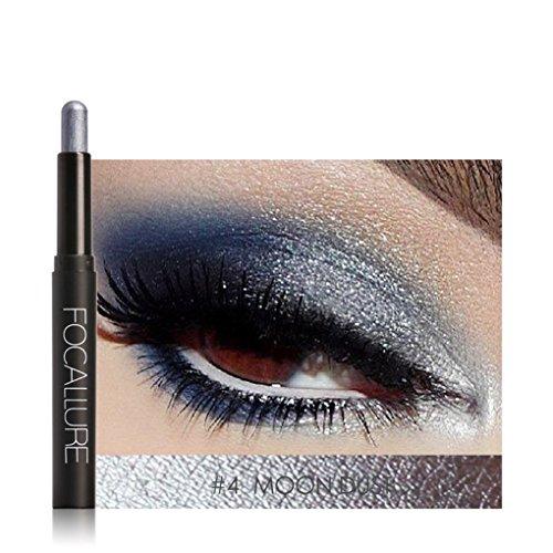 Gankmachine Wasserdicht Automatische Rotation Highlighter Eyeshadow Bleistift Cosmetic Glitter-Augen-Schatten-Feder