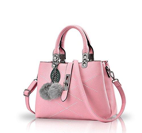 Bilis, Borsa a mano donna, Pink (rosa) - Bilis-008 Pink