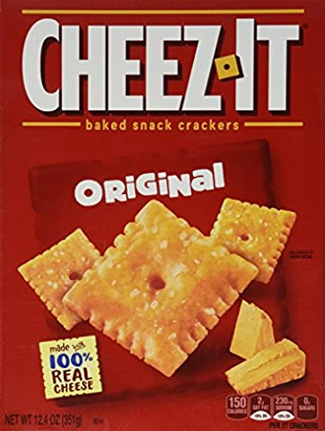 Cheez-It Baked Snack Crackers Cheez it 12.4oz (351g) Cheez It