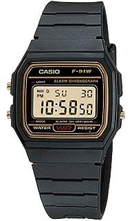 Montre Casio Résine Casio Collection F 91W 1YER Homme 55 (6 avis) Plus d'infos