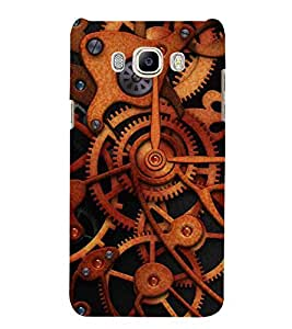 For Samsung Galaxy On8 Sm-J710Fn/Df Industrial clock transmission gear, industrial clock gear Designer Printed High Quality Smooth Matte Protective Mobile Case Back Pouch Cover by APEX