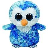 TY 36741 - Ice Cube - Pinguin mit Glitzeraugen, 15 cm, blau