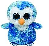 Ty - TY37044 - Beanie Boo's - Peluche Ice Cube Pinguin 23 cm
