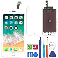 BBSELL Display Completo LCD Assembly Digitizer conversione digitale di touch LCD comprende per iphone 6 (Bianco)