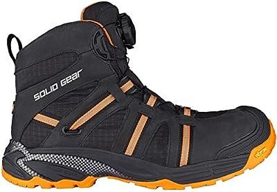 Solid Gear sg8000745Phoenix GTX–Zapatos de seguridad S3talla 45NEGRO/NARANJA