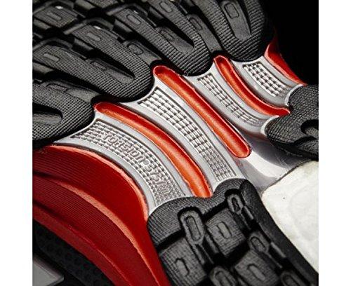 adidas Uomo Response 2 scarpe sportive Nero / Grigio / Bianco / Arancione