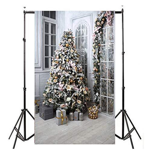 (Weihnachten deko Fotografie Hintergründe Custom Theme Studio Requisiten Fotografische Kulissen für Foto Studio Foto Hintergrund Decor - Multi-Color Mixed)