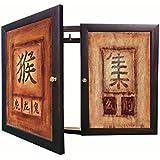 Tapa contador cuadro de luz Moldura c/cuelga llaves 2 puerta,m/ext 34x48x5'7 cms.