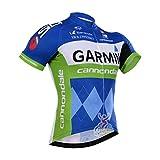 Strgao 2016 Herren Radtrikot Shirt Kurzarm Pro Team Garmin MTB Radfahren Top Radshirt Atmungsaktiv Durchgehender Rei?verschluss