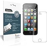 2x dipos Glass Panzerfolie Apple iPhone 5 / 5S / 5C / SE Schutzfolie Kunststoffglas 9H
