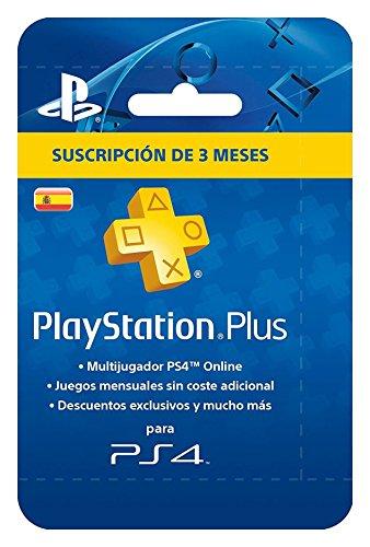 Sony - PSN Plus Tarjeta 90 Días - Reedición Playstation